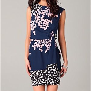 Diane von Furstenberg Tamara Silk Mini Dress